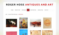 roger hose antiques and art